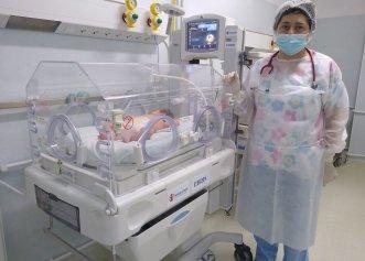 Maternitatea Spitalului Municipal Medgidia, dotată de Salvați Copiii cu sprijinul Libris cu un incubator Giraffe, în valoare de peste 20.000 euro