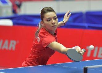 Inima celei mai frumoase jucătoare de tenis de masă din România este cucerită definitiv!
