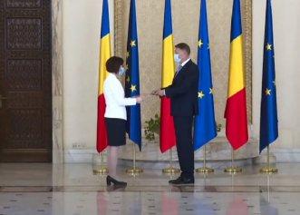 Ioana Mihăilă a preluat portofoliul Ministerului Sănătății. Mesajul Președintelui Iohannis