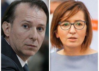 """Ioana Mihăilă, atac către premier: """"Când Florin Cîțu declara că valul 4 nu va fi nimic din ce a fost, la Ministerul Sănătății aveam deja implementate o serie de măsuri"""""""