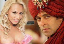 """Rochia TRANSPARENTĂ a Iuliei Vântur i-a """"ÎNEBUNIT"""" pe indieni. Ce reacție va avea Salman Khan?"""
