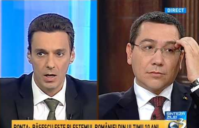 Victor Ponta, afirmații incendiare