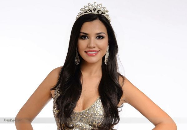 Natalia Oneţ, reprezentanta României la Miss World 2015, a p …