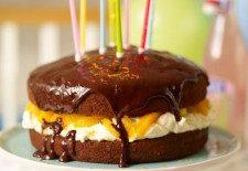 Cacao, ciocolată neagră, frişcă, portocale… Rețetă de tort de casă by Jamie Oliver
