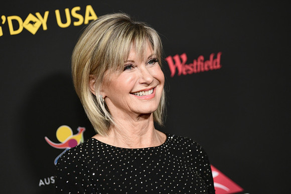 LOS ANGELES, CA - JANUARY 27: Olivia Newton-John attends 2018 G'Day USA Los Angeles Black Tie Gala at InterContinental Los Angeles Downtown on January 27, 2018 in Los Angeles, California.  (Photo by Emma McIntyre/Getty Images)