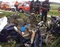 Accident pe DN13, 5 victime, lângă localitatea R …