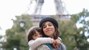 Dana Rogoz și fiul ei