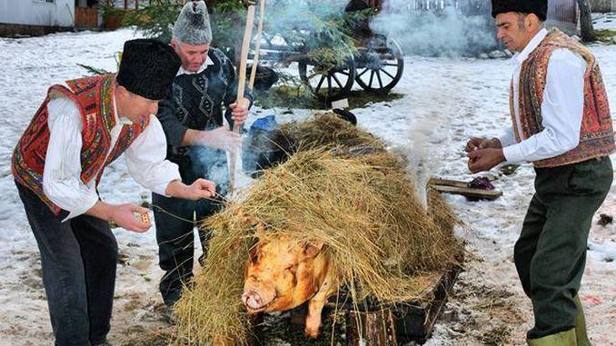 Tradiția sacrificării porcilor