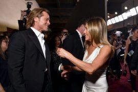Brad Pitt și Jennifer Aniston, din nou împreună?