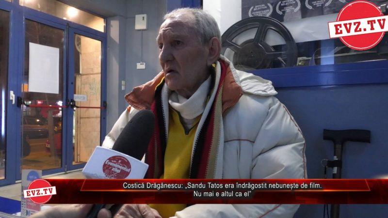 """Actorul Costică Drăgănescu povestește din culisele cinematografiei. Despre Alexandru Tatos: """"Nu am mai întâlnit alt regizor ca el!"""""""