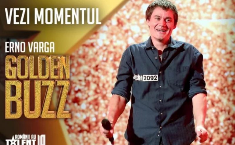 A luat Golden Buzz la Românii au Talent!