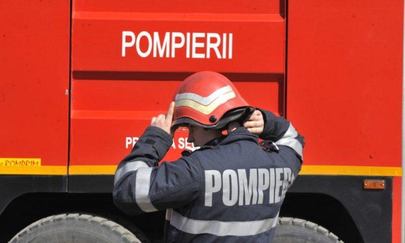 Descindere a Inspectoratul General pentru Situaţii de Urgenţă la Biblioteca Națională a României