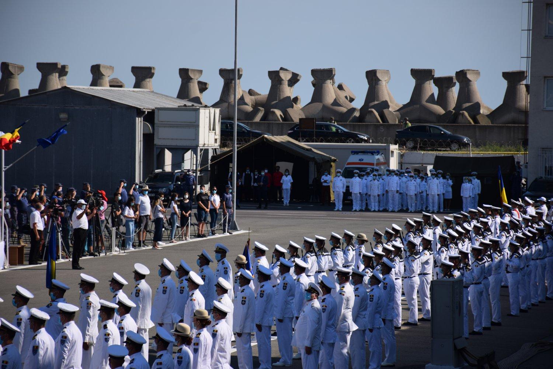 Ziua Marinei Române sărbătorită la Constanța